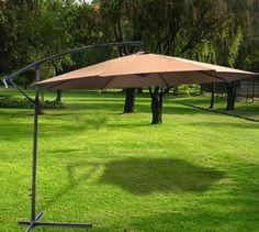 patio umbrella 10 Offset Patio Umbrella   $74.95   FREE Shipping!