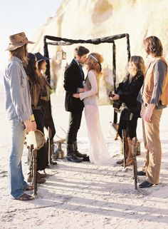 Hippy Wedding?