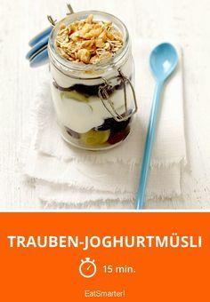 Trauben-Joghurtmüsli