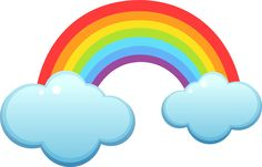 cute rainbow illustration - Google Search