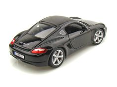 Diecast Auto World - Maisto 1/18 Scale Porsche Cayman S Black Diecast Car Model 31122, $27.99 (http://stores.diecastautoworld.com/products/maisto-1-18-scale-porsche-cayman-s-black-diecast-car-model-31122.html/)