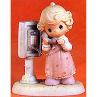 Precious Moments Lord Please Don't Put Me On Hold PM982 NIB
