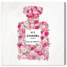 Number 5 Rose II Canvas Print, Oliver Gal