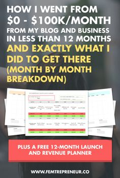 2015 Business Review: How I Built My Blog and Business to $100k/month in Less Than a Year (Month By Month Breakdown) (scheduled via http://www.tailwindapp.com?utm_source=pinterest&utm_medium=twpin&utm_content=post29212232&utm_campaign=scheduler_attribution)