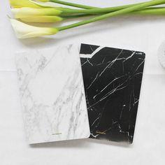 Marble Blank Notebook