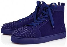 a635f239828b Christian Louboutin United States Official Online Boutique - Lou Spikes  Orlato Men s Flat Nomade Nomade Mat Suede available online. Discover more  Men Shoes ...