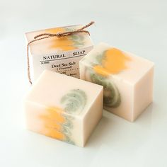 Dead Sea Salt Soap with Organic Shea Butter & Dead by TOKYOFACTORY