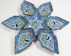 Handmade Turkish Snack Appetizer Plates by RipplingWaterVintage