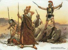 - Guerreros Celtíberos , 150 a.C. /tcc/