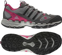 Womens Ax 1 W Shift Grey/Black/Sharp Red Hiking Shoe Sand Dollar Lifestyles Renaissance at Colony Park 601.707.7480 #shoprenaissance