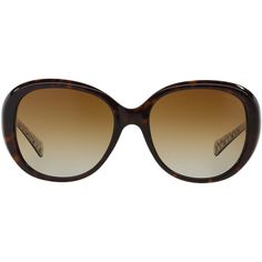 Coach Hc8120 57 Tortoise Square Sunglasses ($198) ❤ liked on Polyvore featuring accessories, eyewear, sunglasses, glasses, occhiali, other accessories, tortoiseshell glasses, tortoise shell glasses, coach eyewear and coach sunglasses