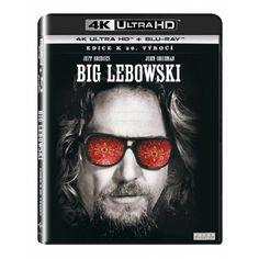 Blu-ray Big Lebowski, UHD + BD, CZ dabing | Elpéčko - Predaj vinylových LP platní, hudobných CD a Blu-ray filmov El Gran Lebowski, The Big Lebowski, Coen Brothers, Steve Buscemi, Jeff Bridges, Anamorphic, Julianne Moore, Thriller, Mirrored Sunglasses