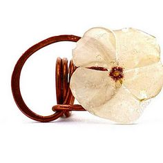 One Over Two - Fresh Flower Rings