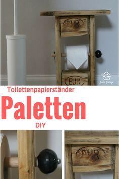 How to, Toilettenpapierständer aus Europaletten, Paletten, Palettenmöbel, Palettenmoebel, Moebel aus Paletten, Möbel aus Paletten, Pallets, DIY, Do it yourself, crafting, woodworking, selber machen, selber basteln, vintage Möbel, Upcycling