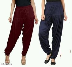 Checkout this latest Patialas Product Name: *Fabulous Women's Patiala Pants Combo (Pack Of 2)* Fabric: Cotton Viscose  Waist Size: XL - 34 in XXL - 36 in  Length: Up To 40 in Type: Stitched Description: It Has 2 Pieces Of Women's Patiala Pants Pattern: Solid Country of Origin: India Easy Returns Available In Case Of Any Issue   Catalog Rating: ★4 (1170)  Catalog Name: Sana Fabulous Women's Patiala Pants Combo Vol 8 With CatalogID_813672 C74-SC1018 Code: 853-5455616-168