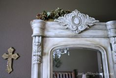 {DIY Painting} Inspiration Projects...ASCP French Linen with Old White and tinted wax