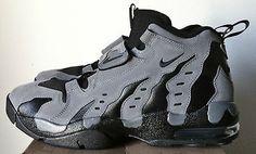nike air dt max 96 dark grey black men diamond turf shoe deion ...
