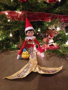 Elf on the Shelf - Sparkle under the sea!