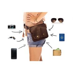 The most glorious fanny pack of all times, but can also be worn cross body. Inspired by the one worn by Fiona in Burn Notice (so if you can put loads of spy stuff in, it's a bad ass fanny pack)