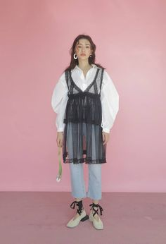 Image in de.STYLE ✧ collection by bunnieisgood Kpop Fashion Outfits, Ulzzang Fashion, Korean Outfits, Retro Outfits, Fashion Wear, Korean Fashion Trends, Korea Fashion, Asian Fashion, Fashion Design Sketches
