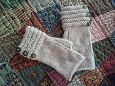 Over The Picket Fence: Churchmouse Classics Welted Fingerless Gloves...