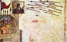Arrows shot at Image of Mary