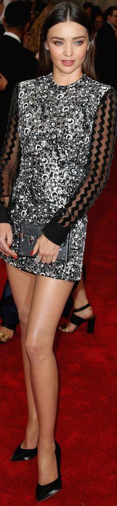 Miranda Kerr in Louis Vuitton Source:Getty at the Met Gala 2015