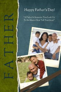Mixbook Distinguished Dad Father's Day Cards