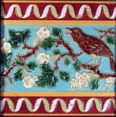Glazed and Confused: Majolica Showcase: George Jones Majolica Tiles