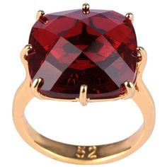 Les Néréides La Diamantine Ring (€38) ❤ liked on Polyvore featuring jewelry, rings, accessories, ruby, les nereides jewelry, les nereides ring, bead jewellery, beading jewelry and beaded rings