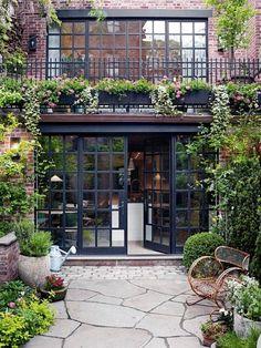 urban garden ideas west village backyard