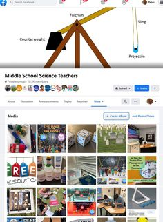 A place to find ideas and resources for middle school science teachers Science Education, Teaching Science, Good Time Management, Classroom Projects, Middle School Science, Storytelling, Invitations, Photo And Video, Free