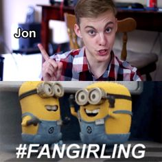Jon Cozart/Paint is awesome! omg  yes fangirled for the first time in my life because of him.