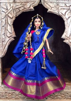 Customised barbie Gopi Dolls Radha by GopiDesigns on Etsy