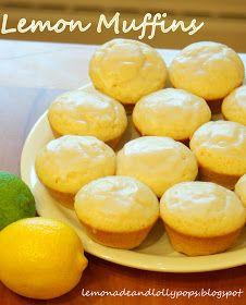 Lemonade and Lollypops: Lemon Muffins