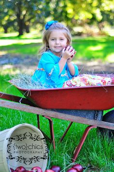 we will have our old wheel-barrel there...it always makes for cute pics