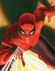 Alex Ross Visions: Spider-man by Alex Ross #Spider-man #Marvel