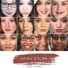 Dawn Rising (Warm / Shimmer) LipSense by SeneGence