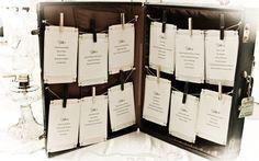 Vintage Wedding decor - seating  arrangement
