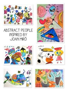 1st graders drew imaginary creatures, people and abstract imagery after looking at the art of Joan Miro.  Miro has always been one of my favorite artists! We talked about the difference between abstract and realistic artwork where artists get their ideas oil pastel and watercolor resists As the students drew their creatures and designs, they … … Continue reading →