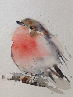 66 original bird watercolor painting Angela Moulton ACEO Art by madge Watercolor Bird, Watercolor Animals, Watercolour Painting, Painting & Drawing, Watercolors, Watercolor Portraits, Watercolor Landscape, Drawing Drawing, Watercolor Artists