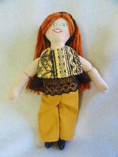 Redhead Dress Up Doll - Toy by JoellesDolls for $25.00