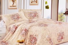 Valtellina Classy Floral Print Double Bed Sheet - Buy Online in India for prices starting at Rs. 529 on Shimply.com. ✔ Fast Shipping ✔ 15 Days Return ✔ Genuine Products