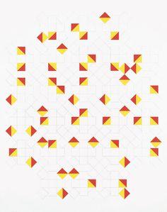 Tauba Auerbach - Sephamore Alphabet