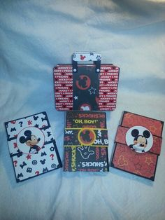 3 x 6 packets and holder from Laura Denison designs - Following the Paper Trail