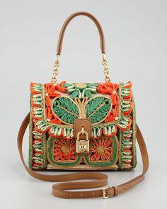 raffia bag | D