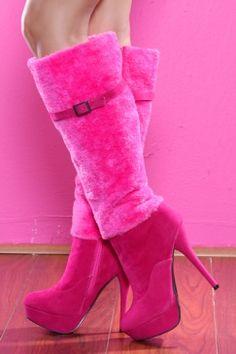 LOVE knee high boots