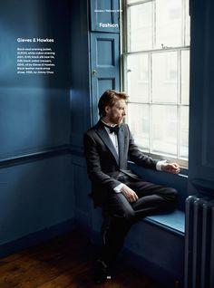2015 | Esquire UK (December/January 2016) - 009 - Domhnall Gleeson Network | | http://domhnall-gleeson.net