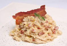 Risotto de frango com bacon para a Bimby