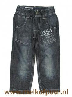 Spijkerbroek Workermodel met lichte stiksels